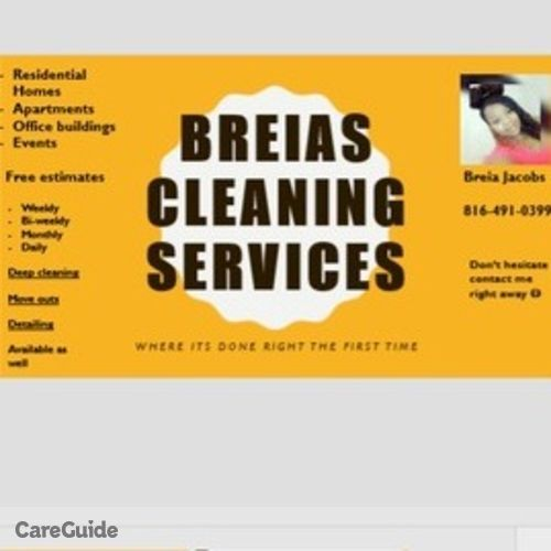 Housekeeper Provider Breia Jacobs's Profile Picture