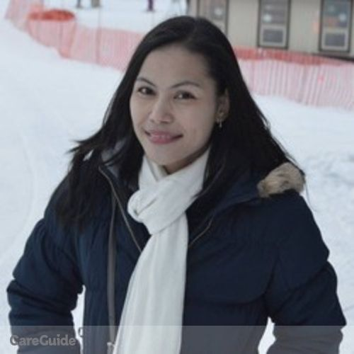 Canadian Nanny Provider Jonalyn Ramayla's Profile Picture
