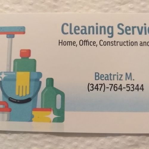 Housekeeper Provider Beatriz M's Profile Picture