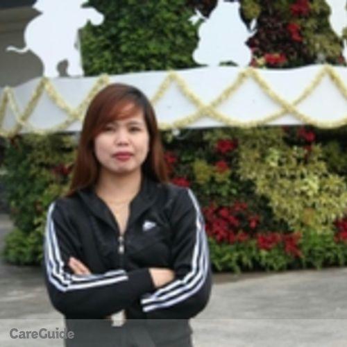 Canadian Nanny Provider Maylene Delacruz's Profile Picture