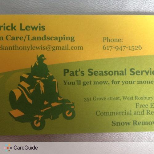 Landscaper Provider Patrick L's Profile Picture