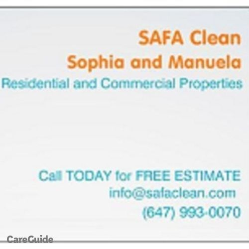 Housekeeper Provider Sophia MacPhail-Ferreira's Profile Picture