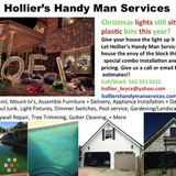 Hollier's Handyman Services does everything from home repair and renovation down to small and odd jobs.