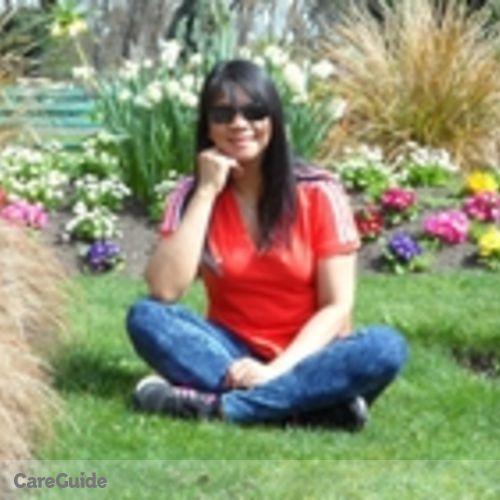 Canadian Nanny Provider Grace Priela's Profile Picture