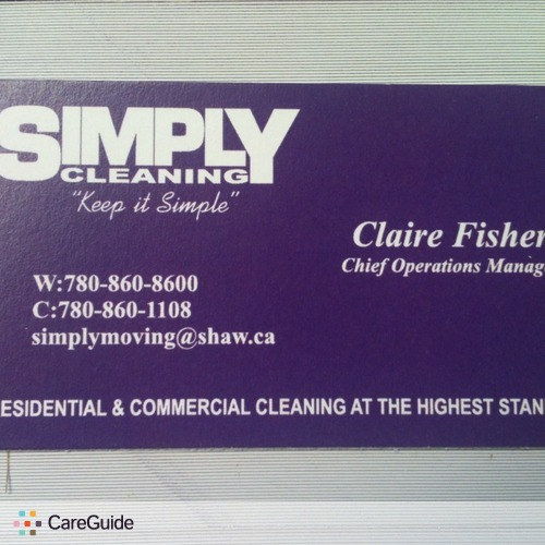 Housekeeper Provider Claire Fisher's Profile Picture