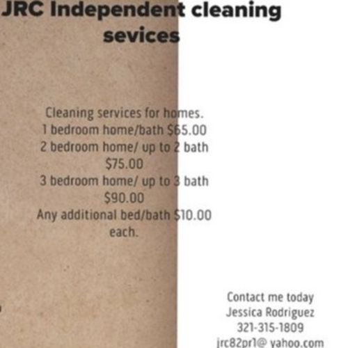 Housekeeper Provider Jessica Rodriguez's Profile Picture