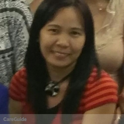 Canadian Nanny Provider Maribelle A's Profile Picture