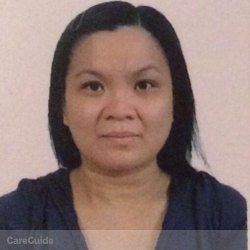 Canadian Nanny Provider Haidee Villanueva's Profile Picture