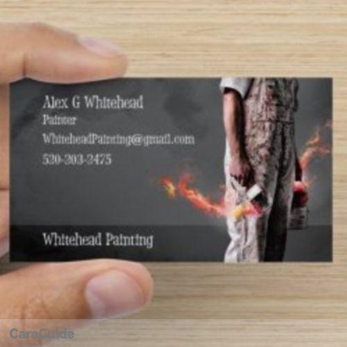Painter Provider Alex Whitehead's Profile Picture