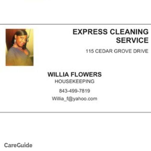 Housekeeper Provider Willia F's Profile Picture