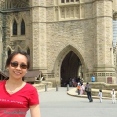 Canadian Nanny Provider Mary Ann Sahagun's Profile Picture