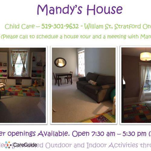 Child Care Provider Mandy's Profile Picture