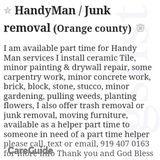 Handyman in Chapel Hill