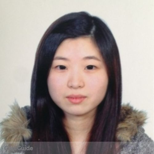 Canadian Nanny Provider Weijia Gao's Profile Picture