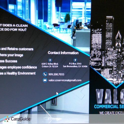 Housekeeper Provider Valor Commercial Services's Profile Picture