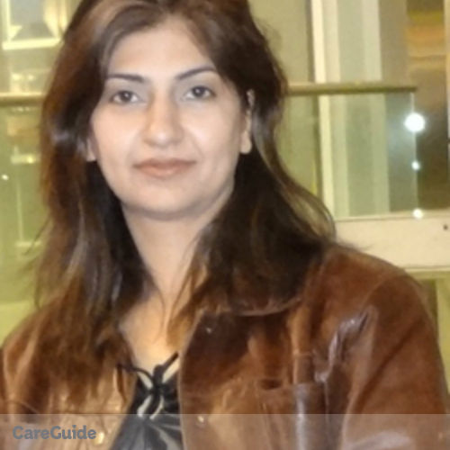 Canadian Nanny Provider Sadaf Shahzad's Profile Picture