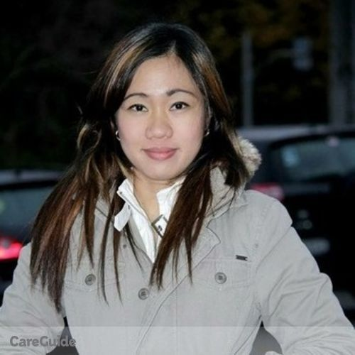 Canadian Nanny Provider Mitchie Janice Cutting's Profile Picture