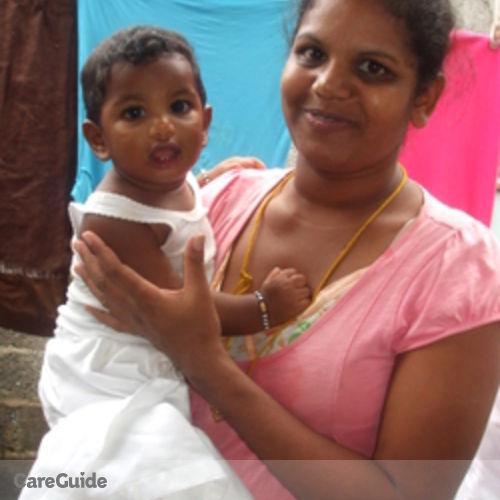 Canadian Nanny Provider Vidya Pokiri's Profile Picture