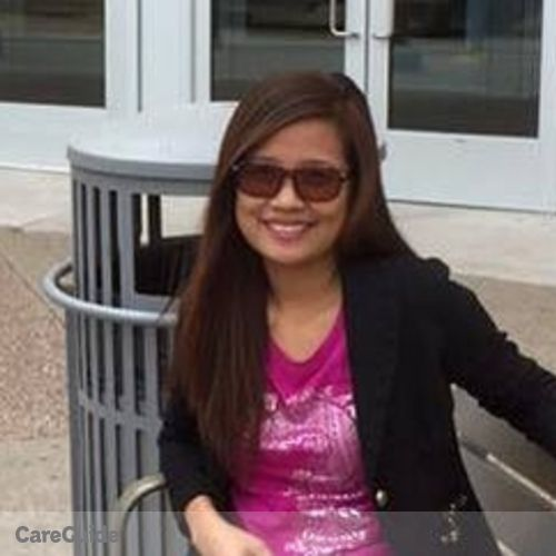 Canadian Nanny Provider Pearl Gay Malayo's Profile Picture