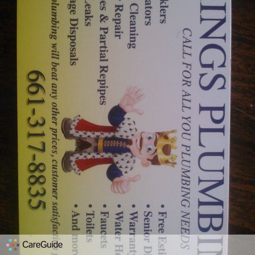 Plumber Provider Kings Plumbing's Profile Picture