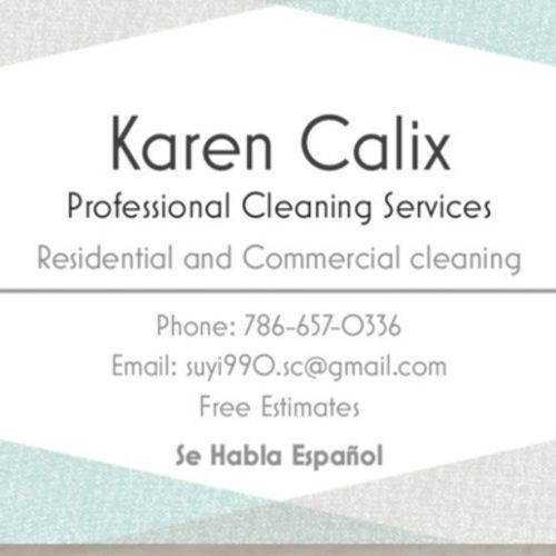 Miami Beach Housekeeping Service Searching for Work in Florida