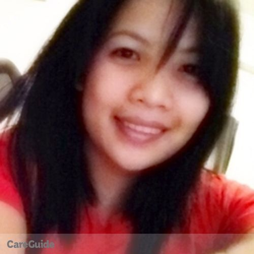 Canadian Nanny Provider Geraldine U's Profile Picture