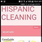 Hispanic cleaning