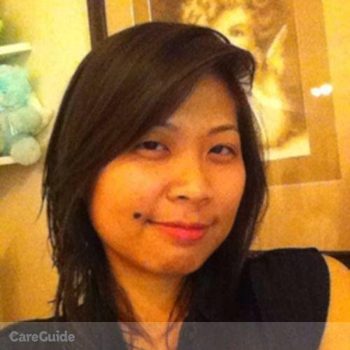 Canadian Nanny Provider Rhea Arenas's Profile Picture