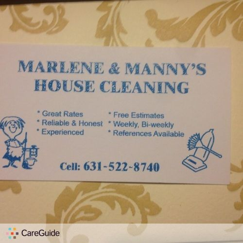 Housekeeper Provider Marlene Vera's Profile Picture