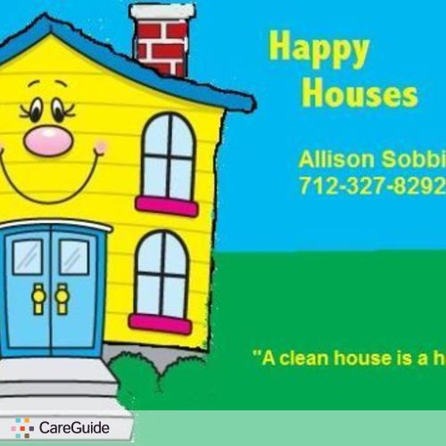 Housekeeper Provider Allison Sobbing's Profile Picture