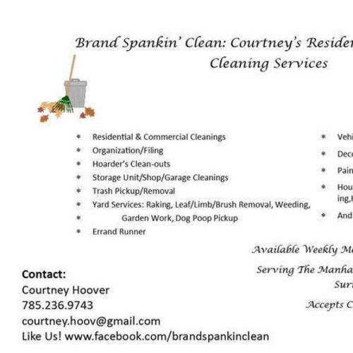 Housekeeper Provider Courtney Hoover Gallery Image 1
