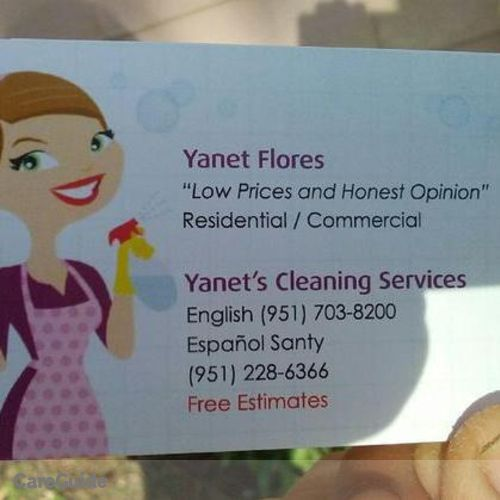 Housekeeper Provider Yanet Bustamante's Profile Picture