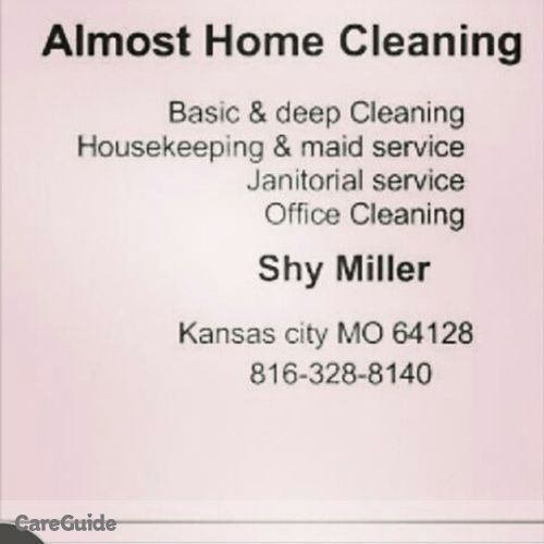Housekeeper Provider Shy Miller's Profile Picture