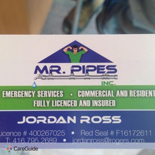 Plumber Provider Jordan Ross's Profile Picture