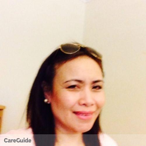 Canadian Nanny Provider Maria Gemma Velasco's Profile Picture