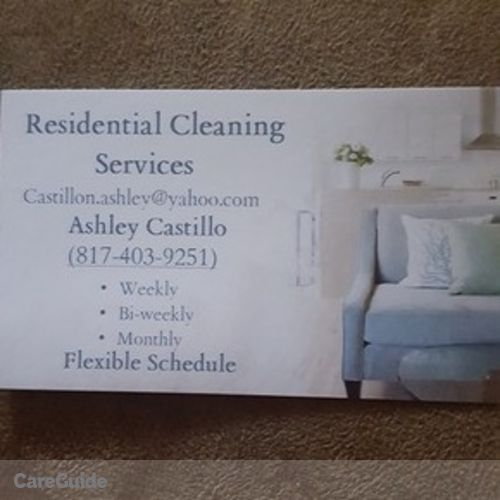 Housekeeper Provider Ashley C's Profile Picture
