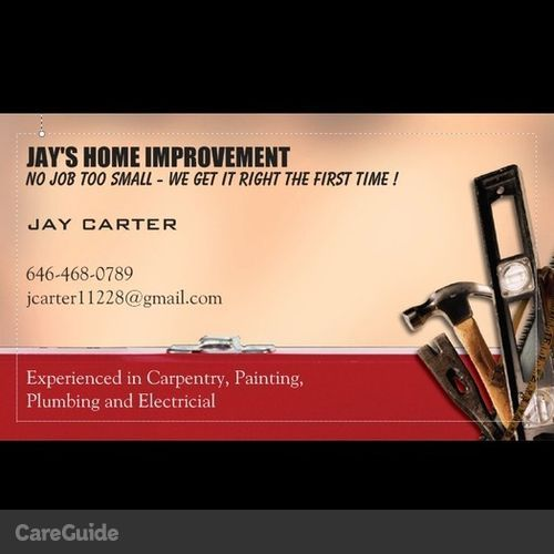 Handyman Provider Jay C's Profile Picture