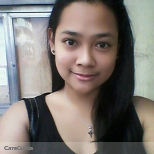 Canadian Nanny Provider Renalyn Macadangdang's Profile Picture