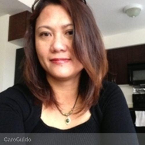 Canadian Nanny Provider Lucinita Marohom's Profile Picture