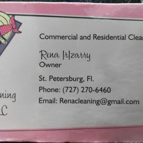 Housekeeper Provider Rena Irizarry's Profile Picture