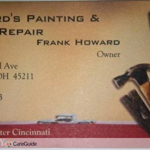 Painter Provider Frank Howard's Profile Picture