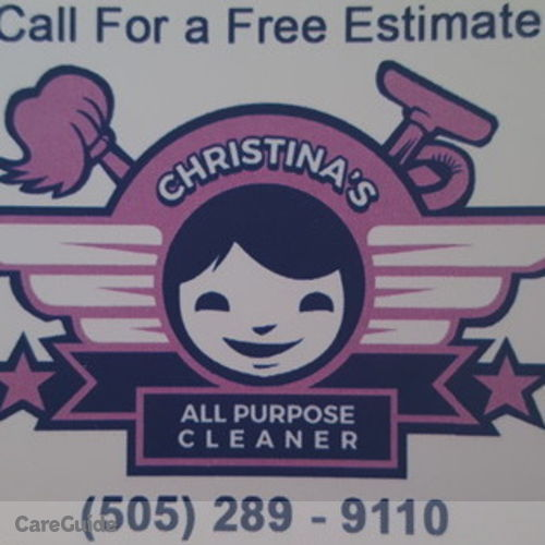 Housekeeper Provider Christina Bravo-Garica's Profile Picture
