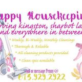 Detail oriented, thorough and reliable house cleaner available.