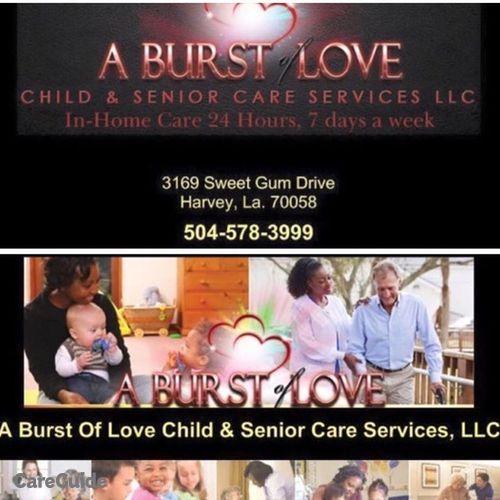 Child Care Provider ABurstOfLove Services's Profile Picture