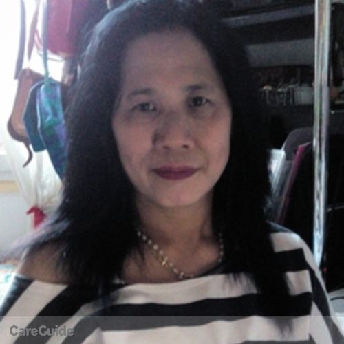 Canadian Nanny Provider Milagros Balangue's Profile Picture