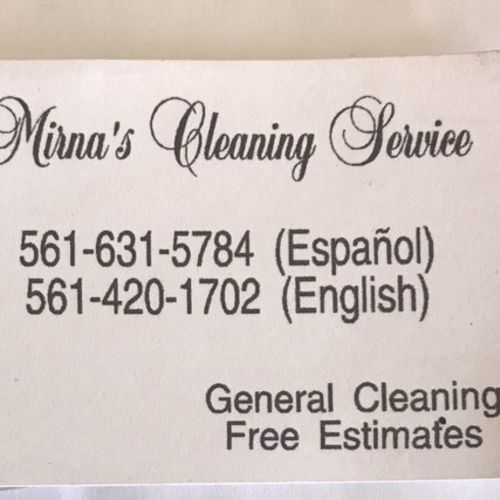 Interviewing For a House Keeper Opportunity in West Palm Beach
