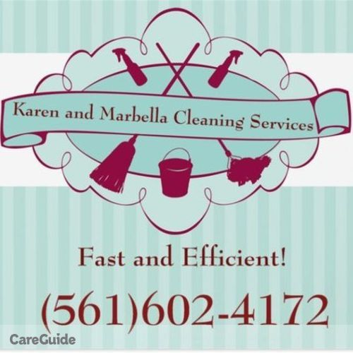 House Sitter Provider Karen and Marbella Cleaning Services's Profile Picture