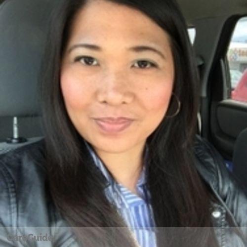 Canadian Nanny Provider Annie Cordero's Profile Picture