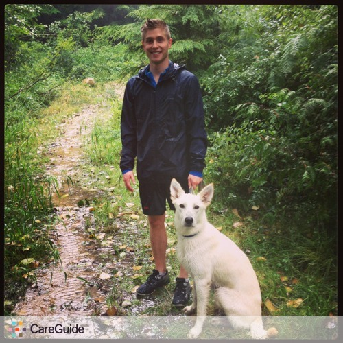 Pet Care Provider Graham Arychuk's Profile Picture