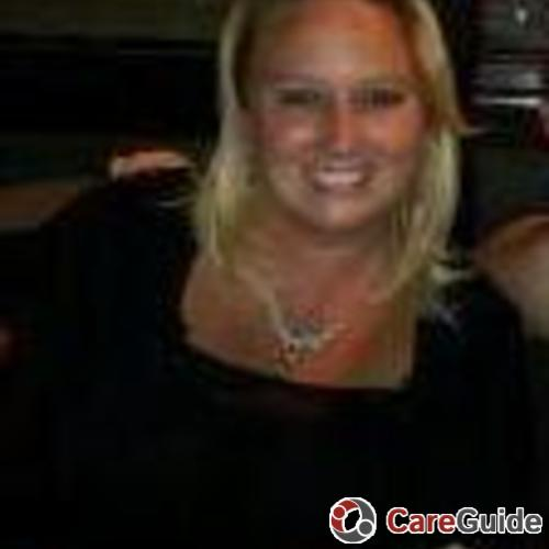 Child Care Job Kasie Mitchell's Profile Picture
